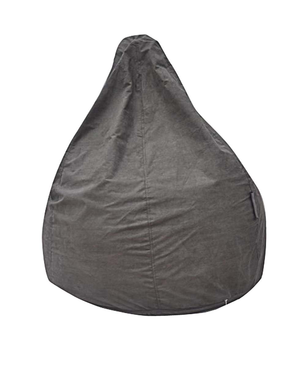 The Pear Bean Bag Chair Grey