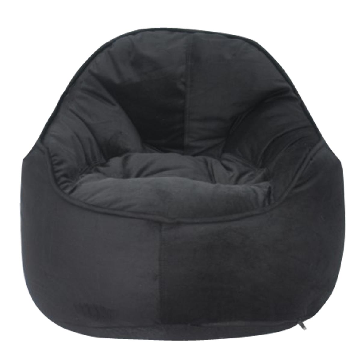 Astounding Mini Me Pod Bean Bag Chair Black Squirreltailoven Fun Painted Chair Ideas Images Squirreltailovenorg