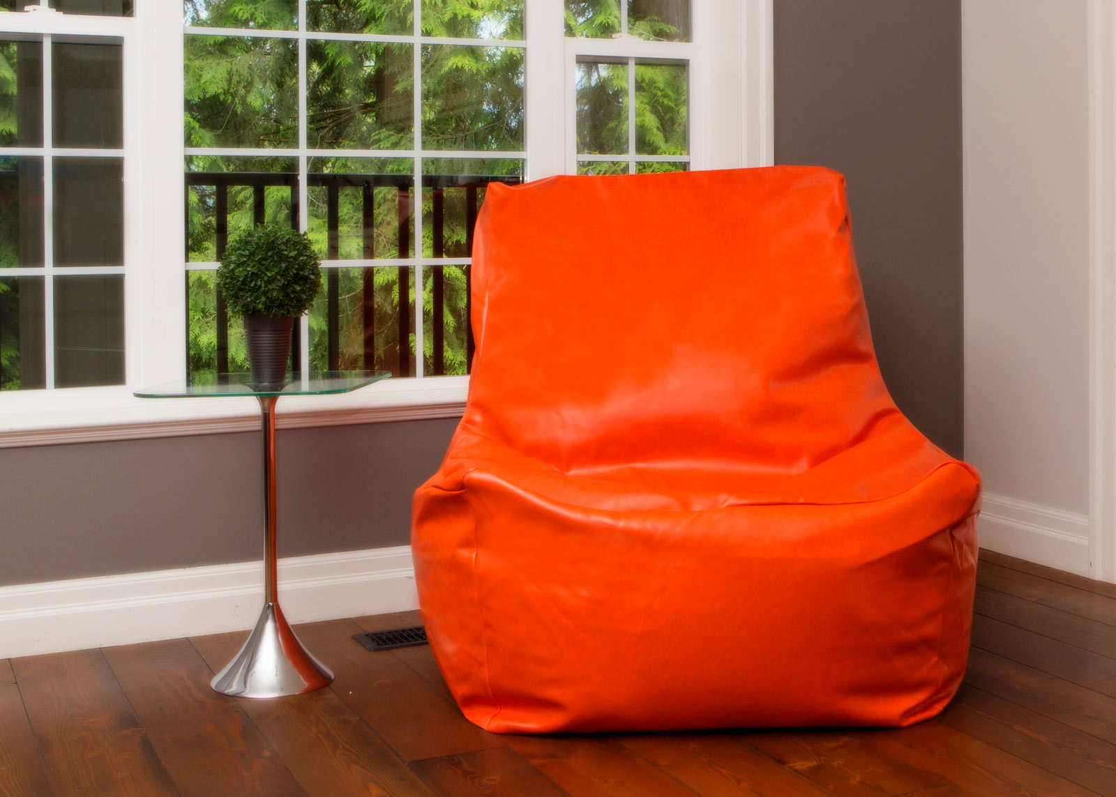 Quicksand Bean Bag Chair Orange