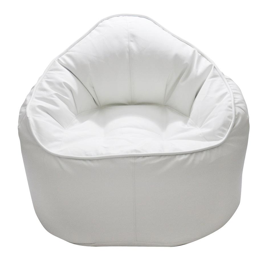 Swell The Giant Pod Bean Bag Chair White Machost Co Dining Chair Design Ideas Machostcouk